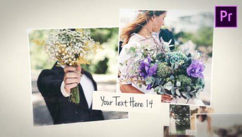 پروژه پریمیر اسلایدشو 2021 خاطرات زیبا Beautiful Memories Slides