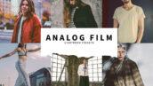 10 پریست لایت روم حرفه ای تم فیلم آنالوگ قدیمی Analog Film Lightroom Presets
