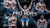12 پریست لایت روم ورزشی و پریست کمراراو فتوشاپ Sharpen PRO HDR Lightroom Presets