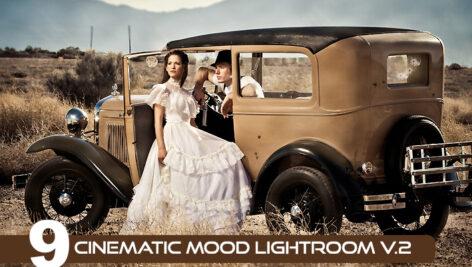 18 پریست لایت روم سینمایی 2021 جدید Cinematic Mood Lightroom v.2
