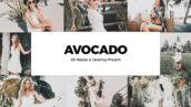 20 پریست لایت روم و لات رنگی تم آوکادو Avocado Lightroom Presets And LUTs