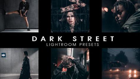 30 پریست لایت روم و پریست کمراراو تم خیابان تاریک Dark street presets