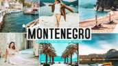 40 پریست لایت روم و پریست کمرا راو و اکشن فتوشاپ تم مونته نگرو Montenegro Lightroom Presets