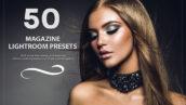 50 پریست لایت روم حرفه ای تم عکس مجلات Magazine Lightroom Presets