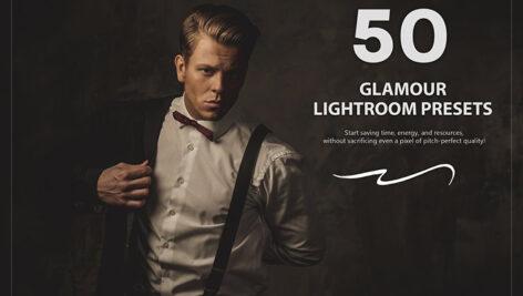 50 پریست لایت روم حرفه ای تم فریبنده Glamour Lightroom Presets