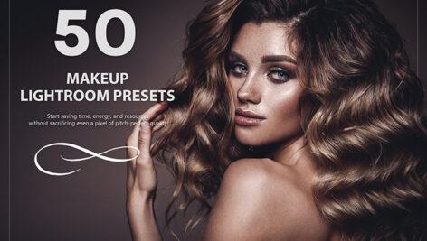 50 پریست لایت روم حرفه ای تک میکاپ Makeup Lightroom Presets