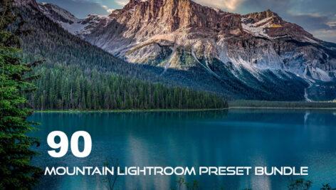 90 پریست لایت روم فضای باز طبیعت کوهستان Mountain Lightroom Preset Bundle