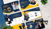 قالب پاورپوینت حرفه ای معرفی شرکت Basagita Corporate Powerpoint Template