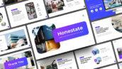 قالب پاورپوینت و گوگل اسلایدر تم آژانس املاک Single Property & Real Estate PowerPoint