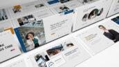 قالب پاورپوینت و گوگل اسلایدر تم مارکتینگ Market Power Google Slides Presentation Template