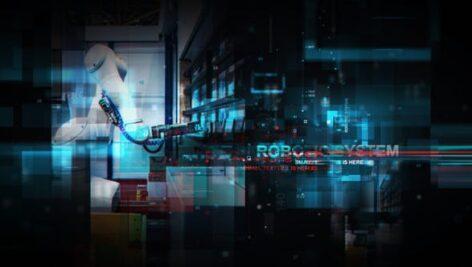 پروژه آماده افتر افکت تیتراژ سینمایی با موزیک Technological Vision