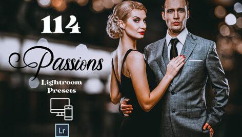 114 پریست لایت روم حرفه ای دسکتاپ و موبایل Passions Adobe Lightroom Preset