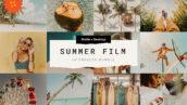 15 پریست لایت روم تابستان سینمایی Summer Film Lr Presets Bundle