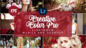 175 پریست لایت روم حرفه ای رنگی Creative Color Pro PRESETS