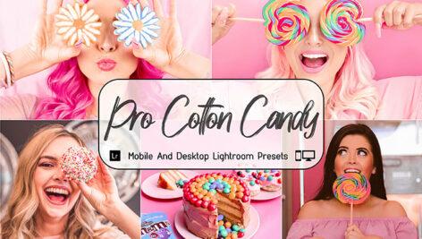 30 پریست لایت روم و پریست کمراراو تم صورتی Pro Cotton Candy Lightroom Presets