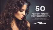 50 پریست لایت روم حرفه ای روتوش عکس پرتره Portrait Retouch Lightroom Preset