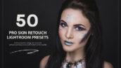 50 پریست لایت روم حرفه ای روتوش پوست صورت PRO Skin Retouch Lightroom Preset