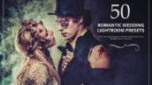 50 پریست لایت روم حرفه ای عروسی تم رومانتیک Romantic Wedding Lightroom Preset