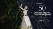 50 پریست لایت روم حرفه ای عروسی رنگ فضای باز Outdoor Lightroom Presets