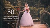 50 پریست لایت روم حرفه ای عروسی رنگ پاستلی Pastel Wedding Lightroom Presets