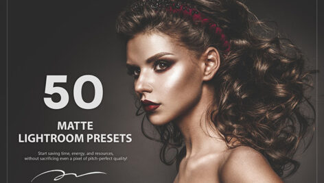 50 پریست لایت روم حرفه ای مات رنگی Matte Lightroom Presets