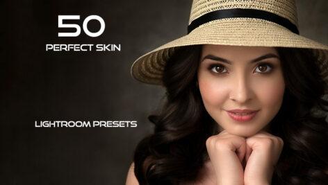 50 پریست لایت روم حرفه ای پوست صورت Perfect Skin Lightroom Presets