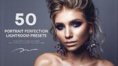 50 پریست لایت روم پرتره حرفه ای Portrait Perfection PR Presets