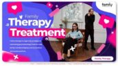 پروژه آماده افتر افکت تبلیغات مراکز روانشناسی Family Therapy Slideshow