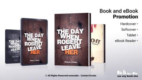 پروژه آماده افتر افکت تبلیغات کتاب و کتاب الکترونیکی Book and eBook Promotion