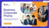 پروژه آماده افتر افکت حرفه ای با موزیک معرفی شرکت Business Corporate Promo