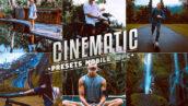 پریست لایت روم حرفه ای سینمایی Cinematic Lightroom Presets Mobile & Desktop