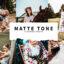 10 پریست لایت روم حرفه ای دسکتاپ تم رنگی مات Matte Tone Lightroom Presets