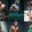 12 پریست لایت روم حرفه ای ورزشی PRO Fitness Image Lightroom Presets