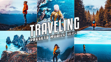 2 پریست لایت روم مسافرت دسکتاپ و موبایل Traveling Lightroom Presets