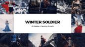 20 پریست لایت روم زمستانی و کمراراو فتوشاپ و لات رنگی Winter Soldier Lightroom Presets