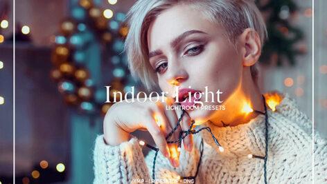 24 پریست لایت روم حرفه ای تم عکس خانگی INDOOR LIGHT LIGHTROOM PRESETS