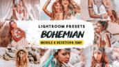 30 پریست لایت روم حرفه ای پرتره و پریست فتوشاپ Bohemian lightroom presets