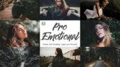 30 پریست لایت روم سینمایی دسکتاپ و موبایل Pro Emotional Mobile And Lightroom
