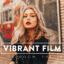 30 پریست لایت روم سینمایی و پریست کمرا راو فتوشاپ تم عکس قدیمی Vibrant Film Lightroom Presets