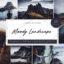 30 پریست لایت روم طبیعت دسکتاپ و موبایل Lightroom Moody Landscape