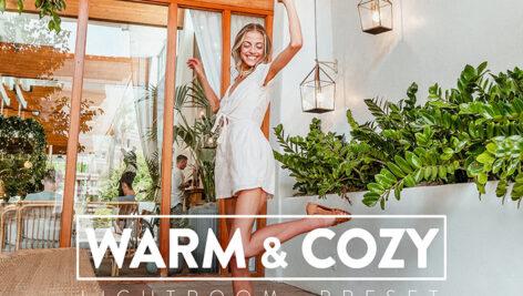 30 پریست لایت روم و پریست کمرا راو فتوشاپ تم رنگ گرم Warm and Cozy Lightroom Presets