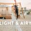 30 پریست لایت روم و پریست کمرا راو فتوشاپ تم هوای روشن Light & Airy Lightroom Presets