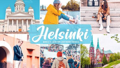 40 پریست لایت روم و پریست کمرا راو و اکشن فتوشاپ تم هلسینکی Helsinki Lightroom Presets