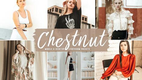 40 پریست لایت روم و پریست کمرا راو و اکشن فتوشاپ رنگ شاه بلوط Chestnut Lightroom Presets