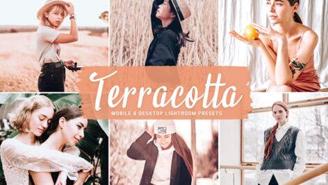 40 پریست لایت روم و کمراراو و اکشن فتوشاپ تم سفالی Terracotta Lightroom Presets