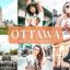 40 پریست لایت روم و کمرا راو و اکشن فتوشاپ تم اتاوا کانادا Ottawa Lightroom Presets
