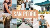 40 پریست لایت روم و کمرا راو و اکشن فتوشاپ تم سان پدرو San Pedro Lightroom Presets
