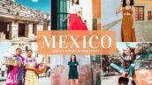 40 پریست لایت روم و کمرا راو و اکشن فتوشاپ تم مکزیک Mexico Lightroom Presets