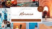 60 پریست لایت روم دسکتاپ و موبایل تم مراکش Morocco Lightroom Presets