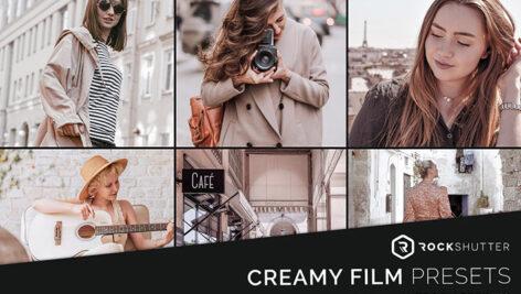 خرید پریست لایت روم سینمایی 12 عددی CREAMY FILM Lightroom Presets